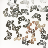 Monarch L Butterfly - Silver