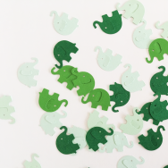 Elephant - Green Tone