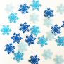 Frozen Himalayan Snowflake - Blue Tone