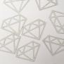 Diamond - Glitter Silver
