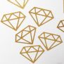 Diamond - Glitter Gold