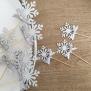 Frozen Cupcake Topper - Silver