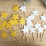 Star Cupcake Topper - Mixed