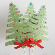 Christmas Tree Wand/Centerpiece