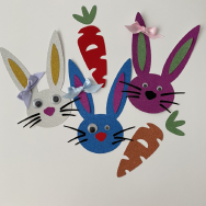 Bunny and Carrot Craft Set