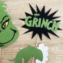 Grinch Cake Topper